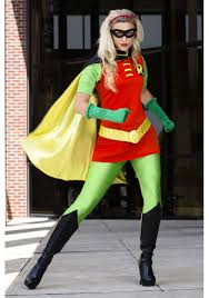 dc women s robin costume