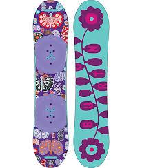 Burton Chicklet Size Chart Burton Chicklet 115cm Girls Snowboard