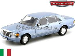 1990 mercedes benz 560 sel w126 pearl bluee 1 18 norev 183464 gfdjuu4603 toys games