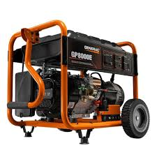 Generac 8 000 Watt Gasoline Powered Electric Start Portable