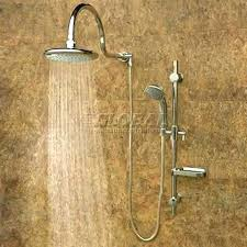 oil rubbed bronze handheld shower head cascades wall mounted rainfall with combo