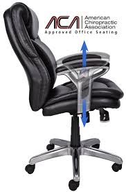 american chiropractic association recommended chairs. amazon.com: serta air health and wellness mid-back office chair, black: kitchen \u0026 dining american chiropractic association recommended chairs s