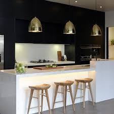 modern white and black kitchens. The Block Glasshouse: Kitchen Week! Like Combination Of White, Black Or Dark, Light Wood And Gold. Modern White Kitchens D