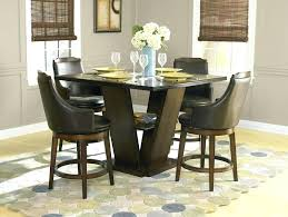 36 dining table set counter height room inch round glass and chairs