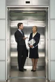 people talking in elevator. businesspeople talking in elevator stock photo - 18885806 people