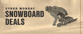 cyber monday snowboard deals