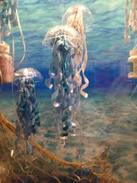 Diy Jellyfish Decorations Cute Simple Ocean Or Ariel Themed Party Decorationsdollar