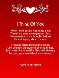 Sweet Poems For Him