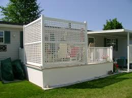 vinyl lattice fence panels. 6 Ways To Add Backyard Shade With Vinyl Lattice Fence Panels F