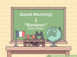 French Top Ten Charts How To Say Good Morning In French With Example Phrases