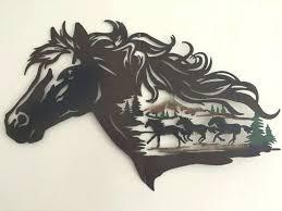 horse metal wall art horse wall art best of rustic western horse metal wall art galloping on cowboy metal wall art with horse metal wall art mirrortechnologies