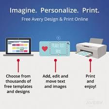 Avery 8395 Flexible Self Adhesive Laser Inkjet Name Badge Labels 2 1 3 X 3 3 8 We 160 Pk