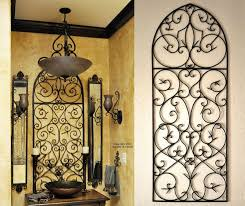 Wrought Iron Home Decor Accents tuscan wall sconces tuscan wall clock wall decoration tuscan 91
