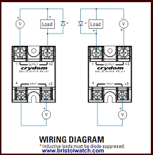 connecting crydom mosfet solid state relays how to connect crydom and other solid state relays