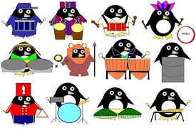 Image result for 12 drummers drumming