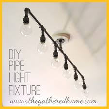 industrial lighting diy. how to make a fabulous plumbing pipe light fixture industrial lighting diy