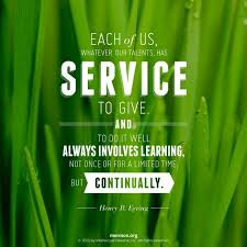 Lds Quotes About Service. QuotesGram