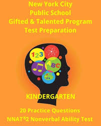 nyc gifted talented program kindergarten practice test 20 questions nonverbal ability