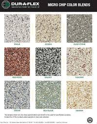 epoxy flooring colors. Duraflexepoxycolorchart Epoxy Flooring In Hartford CT Colors O