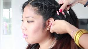 Tuto Tresses Plaqu Es Youtube