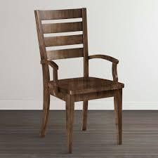Image Wayfair Arm Chair Bassett Furniture Wood Slatback Dining Arm Chair Custom Dining