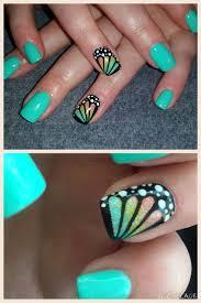 Best 25+ Butterfly nail art ideas on Pinterest | Butterfly nail ...
