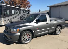 161-Mile 2006 Dodge Ram SRT-10 6-Speed