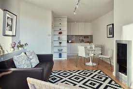 open plan apartment with flair