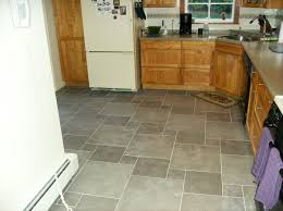 Large Floor Tiles For Kitchen Modest Kitchen Tile Floor Designs On Floor With Home Design