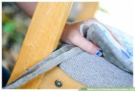 image titled fix kitchen cushion ties step 1