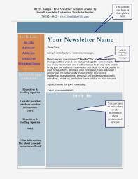 Business Newsletter Template Word Fresh Free Printable Newsletter