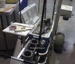 professional fishing cart customized