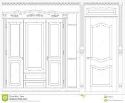 wood furniture blueprints. Wood Furniture Blueprint Stock Illustration. Illustration Of Isolated - 17388763 Blueprints