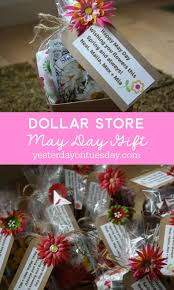 dollar may day gift 25 may day ideas mother s day flower basket craft flowers healthy