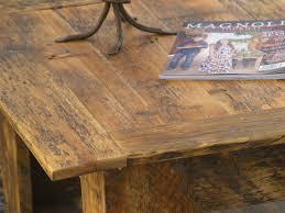 barnwood coffee table round reclaimed wood coffee table salvaged wood coffee table