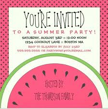 Summer Picnic Invitation Template Also Of Party Patriotic With