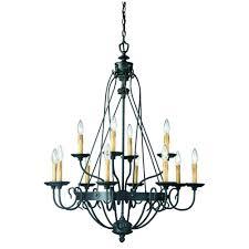 hampton bay glasgow 12 light burnt sienna hanging chandelier