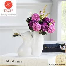<b>European Resin Vase</b>+Artificial Flower Set Figurine Home Crafts ...