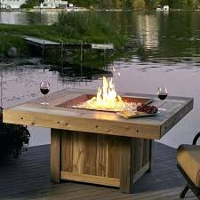 outdoor fire table. Small Fire Pit Tables Portable Outdoor Enclosed . Table L
