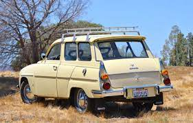This 1969 Saab 95 Estate Wagon Has 69k Miles From New And Is Powered By A Ford Taunus V4 The Car Shows Nicely Inside And Out Saab Automobile Saab Classic Cars