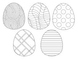 Last year i created these color your own resurrection eggs because i needed something quick. Free Printable Easter Coloring Sheets Paper Trail Design