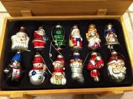 krebs vintage tree ornaments