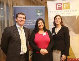 cipd midlands region collins mcnicholas employment law seminar niall murray siobhan bigley and caroline ward