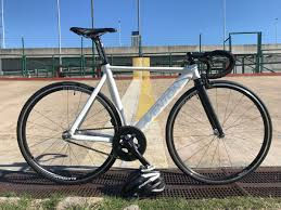 Bicicleta Aventon Mataro Low T52 Fixie Fixed Blanco Mate 62 000 00