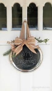 Decorating With Silver Trays Repurposed Chalkboard Silver Platter DIY Inspired 37