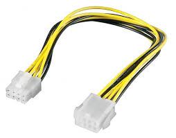 <b>Удлинитель кабеля питания материнской</b> платы Telecom +12V ...