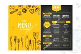 Catering Pamphlet Template Services Flyer Templates Company Ad ...