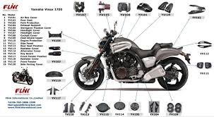 motorcycle carbon fiber body parts for yamaha vmax 1700 buy