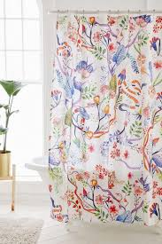 floral shower curtain. Fantastic Vintage Shower Curtains Applied To Your Home Decor: Floral \u2022 Curtain