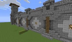 minecraft wall designs. Wall Design Looking South Minecraft Designs